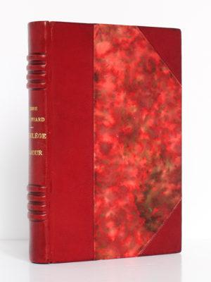 Florilège d'amour, Pierre de RONSARD, illustrations de MARTY. Flammarion, 1953. Reliure.