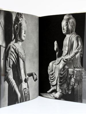 Japanese Sculpture. Cinquantenaire de l'Air Liquide au Japon 1910-60, BIJUTSU SHUPPAN-SHA. 1960. Pages intérieures 1.