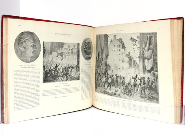 Journées révolutionnaires 1830 1848, Armand DAYOT. Flammarion. Pages intérieures 1.