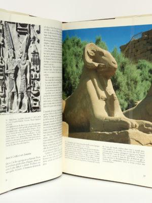 Karnak Résurrection d'un site, Claude TRAUNECKER, Jean-Claude GOLVIN. Payot, 1984. Pages intérieures.
