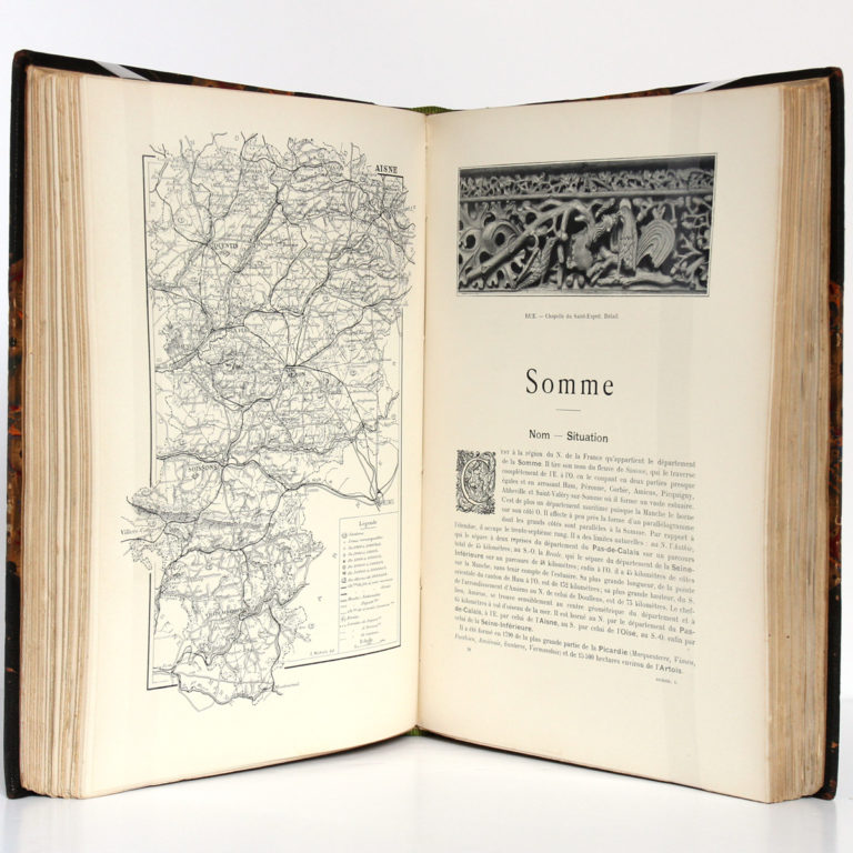 La France du Nord, Ch. BROSSARD. Flammarion éditeur, 1900. Pages intérieures 2.