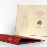 Le Premier Grenadier de France La Tour d'Auvergne. Paul DÉROULÈDE. Georges Hurtrel, 1886. Serpente sur le frontispice et page titre.