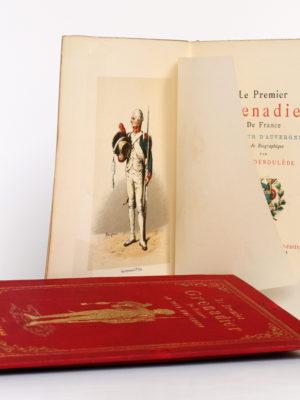 Le Premier Grenadier de France La Tour d'Auvergne. Paul DÉROULÈDE. Georges Hurtrel, 1886. Frontispice et page titre.