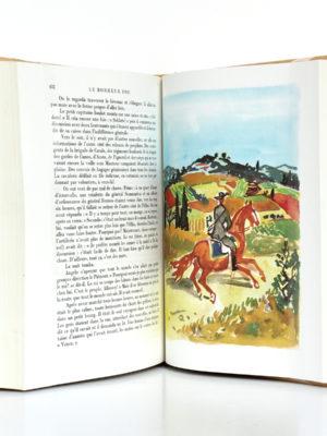 Le Bonheur fou - Mort d'un personnage, Jean GIONO. Illustrations de Yves BRAYER. nrf-Gallimard, 1965. Pages intérieures.
