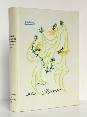 L'Oiseau bleu, Maurice MAETERLINCK, illustrations de TOUCHAGUES. Rombaldi, 1961. Couverture.