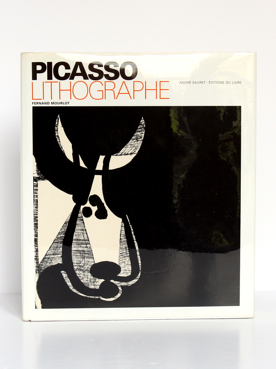 Picasso lithographe, Fernand MOURLOT. André Sauret - Éditions du livre, 1970. Couverture.