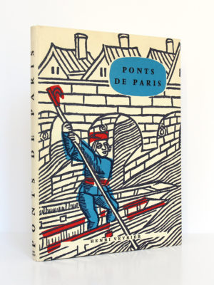 Ponts de Paris à travers les siècles, Henry-Louis. Henri Veyrier, 1973. Couverture.