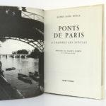 Ponts de Paris à travers les siècles, Henry-Louis. Henri Veyrier, 1973. Frontispice et page titre.