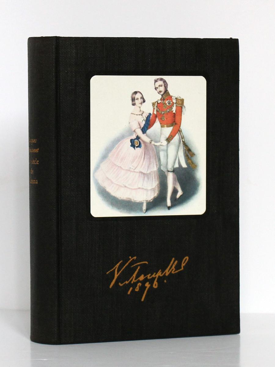 Le Siècle de Victoria, Jacques CHASTENET. Club des Libraires de France, 1957. Couverture.