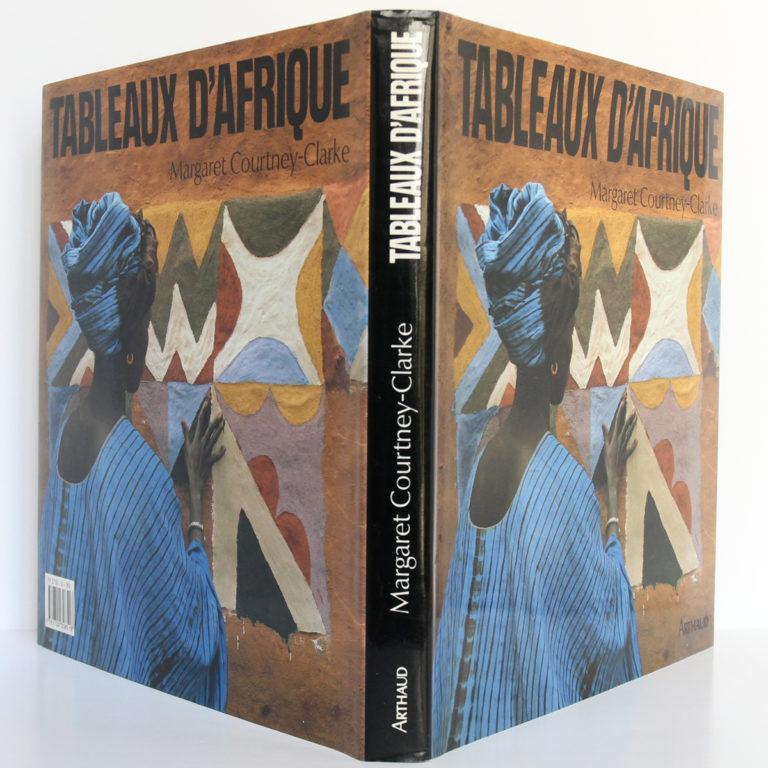 Tableaux d'Afrique L'art mural des femmes de l'Ouest, Margaret COURTNEY-CLARKE. Arthaud, 1990. Jaquette : dos et plats.