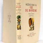 Scènes de la vie de bohème, Henry MURGER, illustrations de DANIEL-GIRARD. Gibert Jeune, 1939. Couverture : dos et plats.