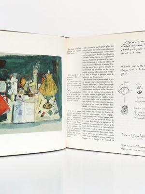 Écrits sur l'art, Paul Valéry. Club des Libraires de France, 1962. Pages intérieures.