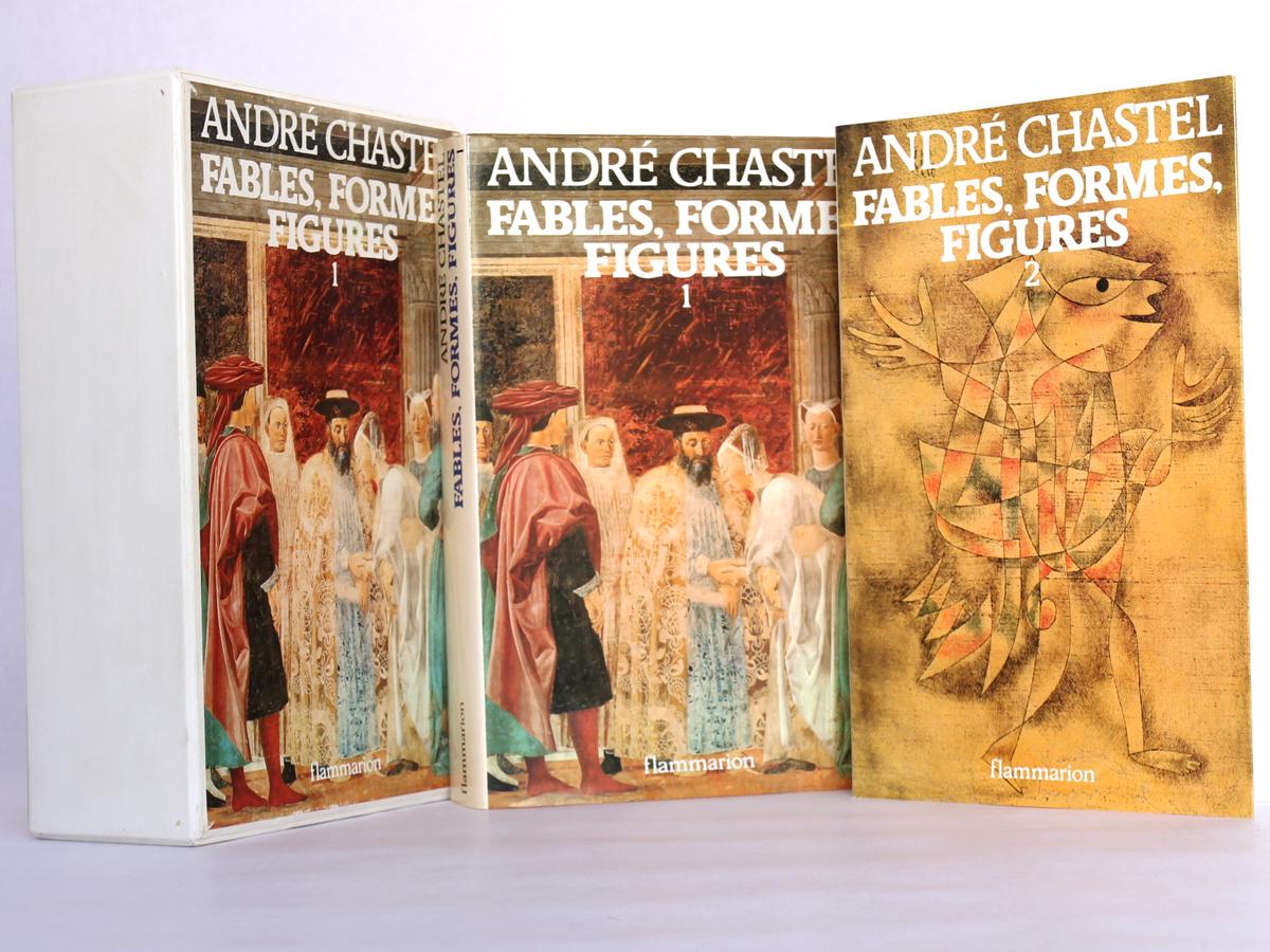 Fables, formes, figures, par André Chastel. Flammarion, 1978. Livres et coffret.