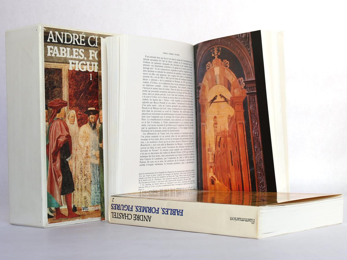 Fables, formes, figures, par André Chastel. Flammarion, 1978. Pages intérieures 1.