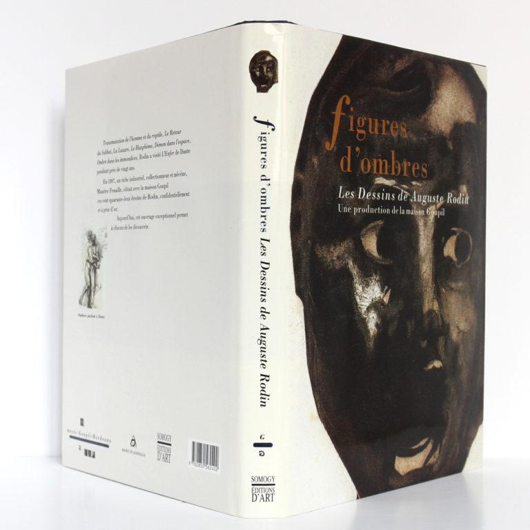 Figures d'ombres Les Dessins d'Auguste Rodin. Somogy, 1996. Couverture : jaquette.