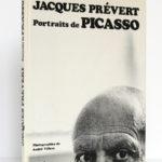 Portraits de Picasso, Jacques PRÉVERT. Éditions Ramsay, 1981. Couverture.