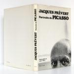 Portraits de Picasso, Jacques PRÉVERT. Éditions Ramsay, 1981. Couverture : jaquette.