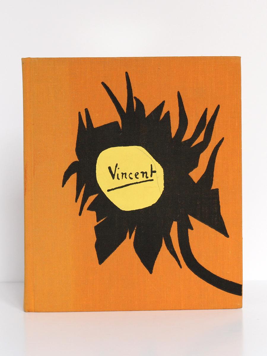 """Lettres de Vincent Van Gogh à son frère Théo, suivies de """"Van Gogh le suicidé de la société"""" par Antonin Artaud. Le club français du livre, 1953. Premier plat."""