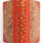 Jean Sire de Joinville, Histoire de Saint Louis, Natalis de WAILLY. Firmin Didot Frères, 1874. Reliure : dos et plats.