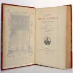 Jean Sire de Joinville, Histoire de Saint Louis, Natalis de WAILLY. Firmin Didot Frères, 1874. Frontispice, serpente, page titre.