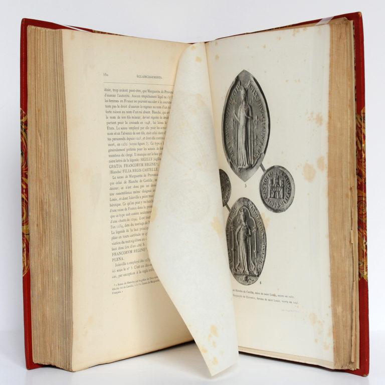 Jean Sire de Joinville, Histoire de Saint Louis, Natalis de WAILLY. Firmin Didot Frères, 1874. Pages intérieures 3.