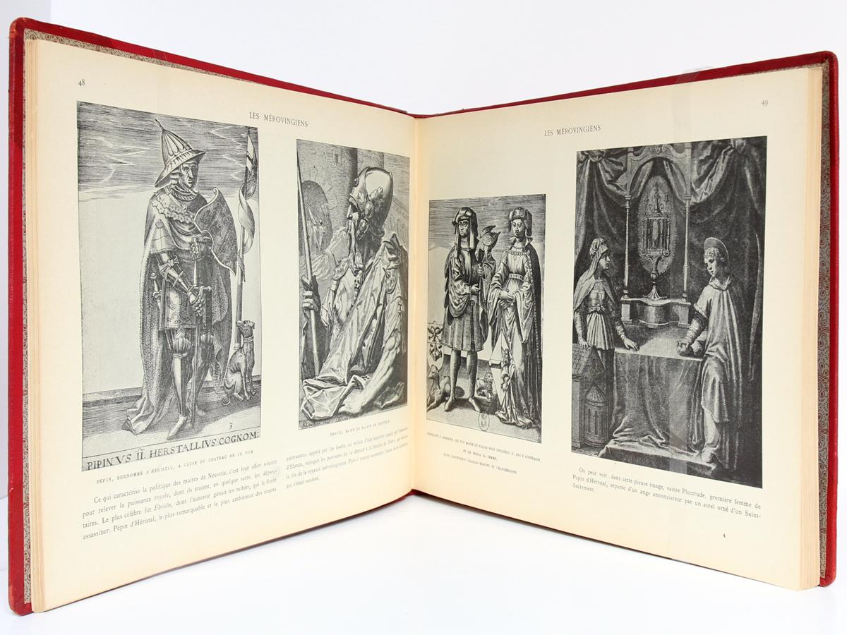Le Moyen Age, Armand DAYOT. Flammarion, sans date. Pages intérieures 1.