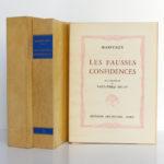 Les fausses confidences, Marivaux. Illustrations de Paul-Émile BÉCAT. Éditions Arc-en-Ciel, 1953. Livre, chemise et étui.