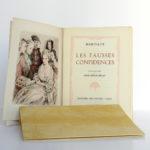 Les fausses confidences, Marivaux. Illustrations de Paul-Émile BÉCAT. Éditions Arc-en-Ciel, 1953. Frontispice et page titre 1.