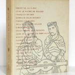 La poésie du passé du douzième au dix-huitième siècle, présenté par Paul Éluard. Club français du livre, 1954. Couverture.