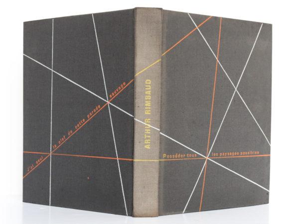 Œuvres, Arthur RIMBAUD. Club français du livre, 1949. Reliure : dos et plats.