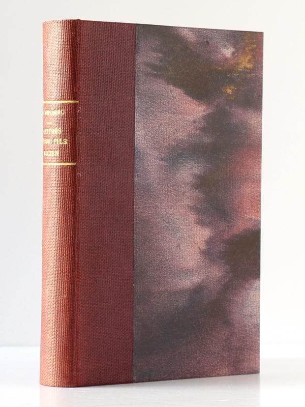 Lettres à son fils Lucien, Camille Pissarro. Albin Michel, 1950. Reliure.