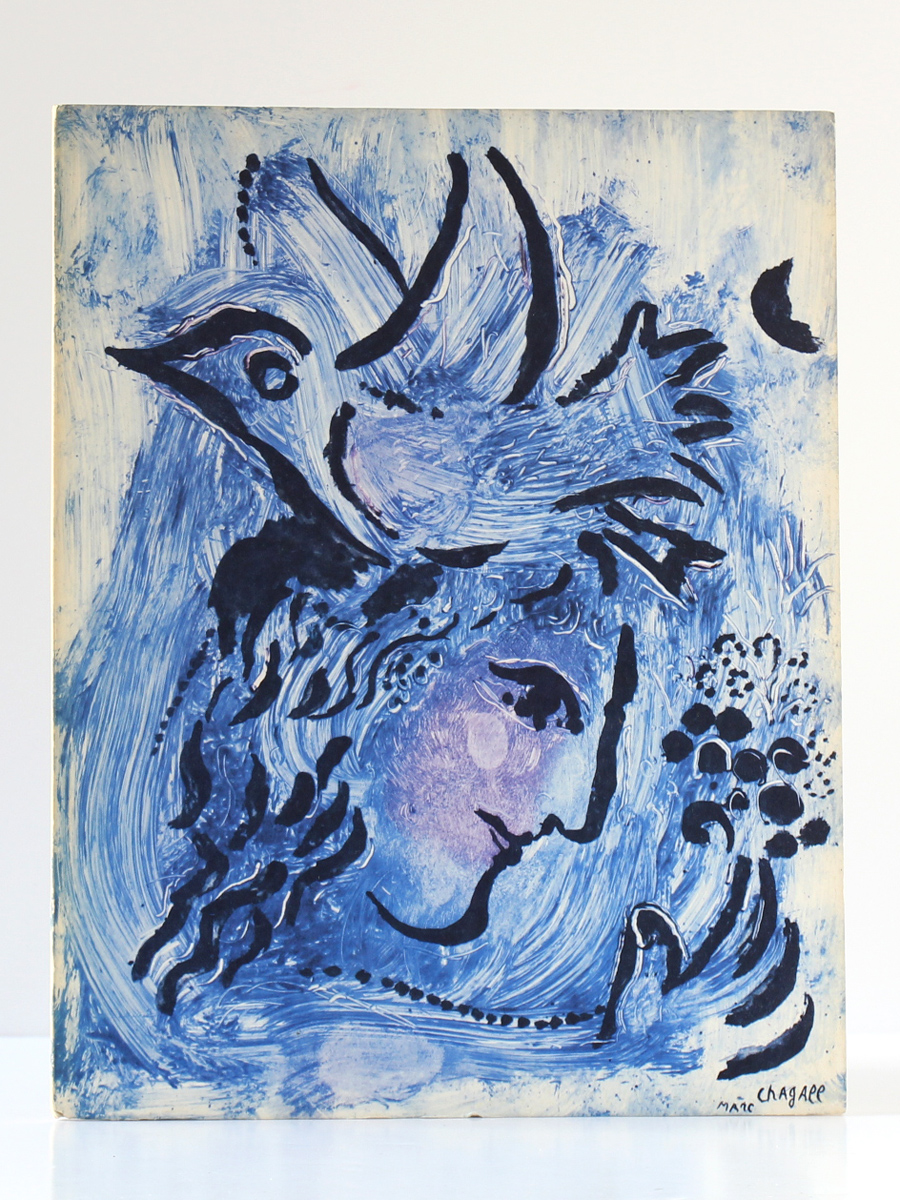 Marc Chagall Monotypes en noir et en couleurs Paravent 1961-1963, Catalogue Galerie Cramer 1964-1965. Couverture.