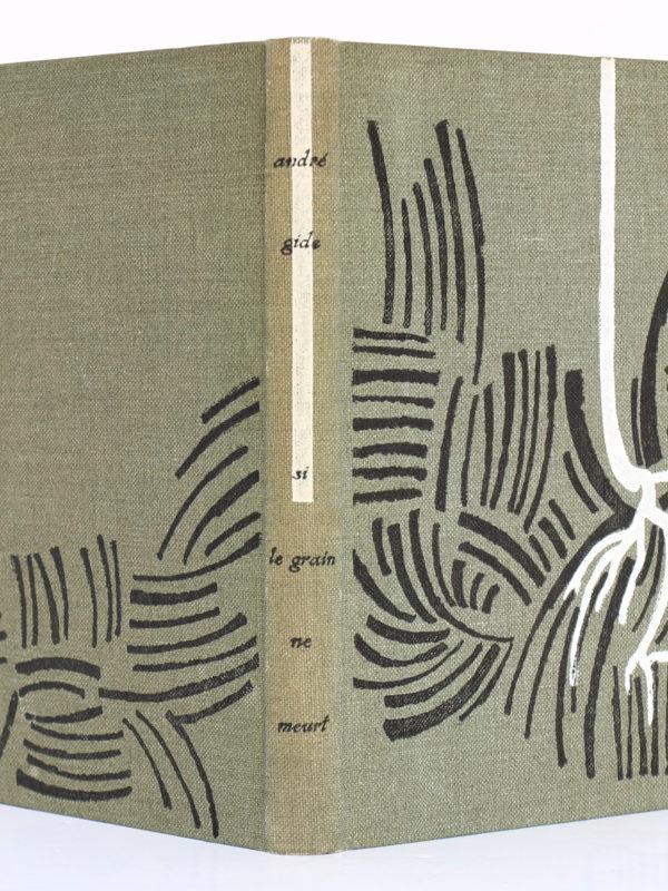 Si le grain ne meurt, André GIDE. Le Club français du livre, 1953. Reliure : dos et plats.