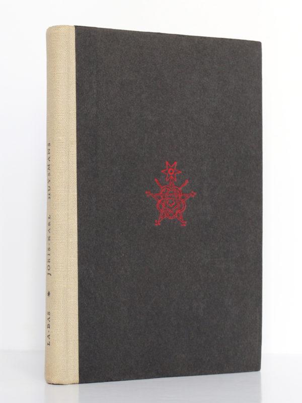 Là-Bas, J.-K. HUYSMANS. Le Club français du livre, 1948. Couverture.