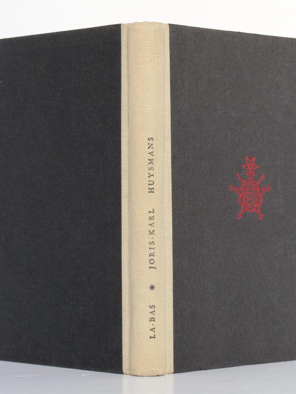 Là-Bas, J.-K. HUYSMANS. Le Club français du livre, 1948. Reliure : dos et plats.