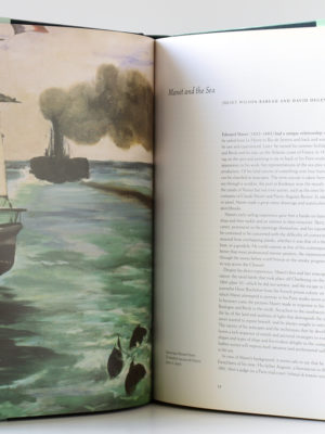 Manet and the sea, catalogue de l'exposition de 2003 et 2004. Pages intérieures 2.