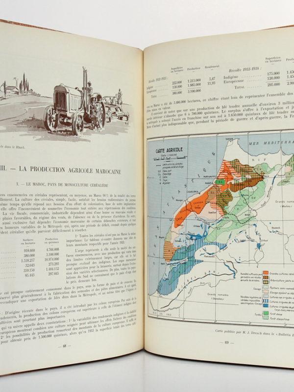 Maroc. Atlas historique, géographique et économique. Horizons de France, 1935. Pages intérieures.