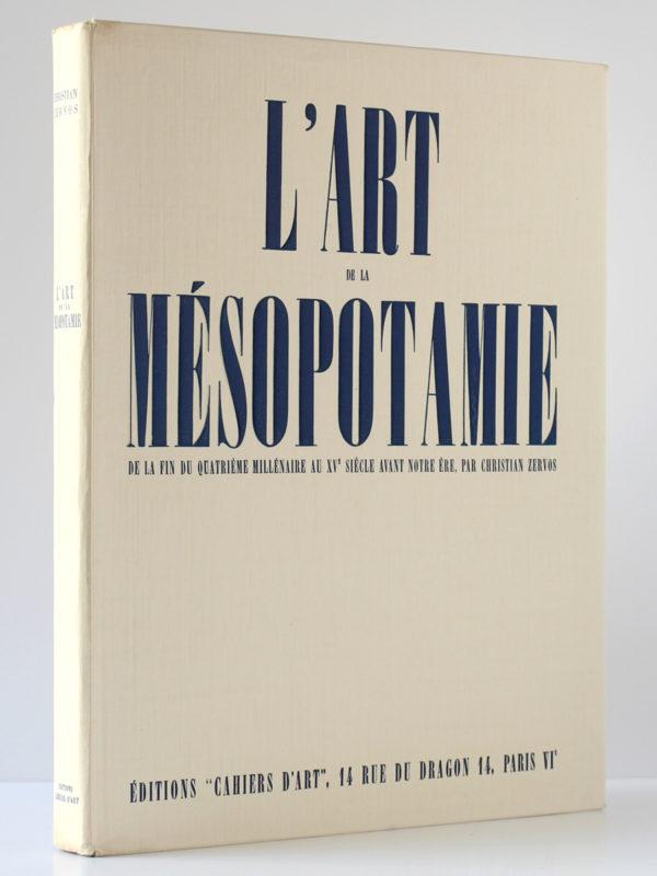 L'Art en Mésopotamie, Christian Zervos. Éditions