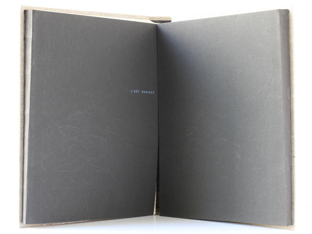 L'art magique, André BRETON. Club français de l'art, 1957. Livres intérieurs.