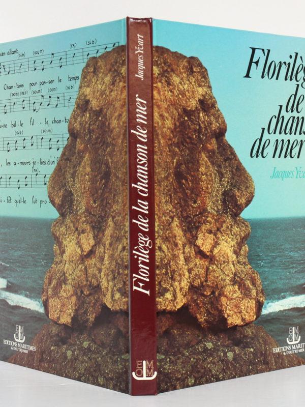 Florilège de la chanson de mer, Jacques YVART. Éditions Maritimes et d'Outre-Mer, 1988. Couverture : dos et plats.