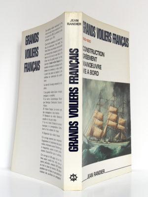 Grands voiliers français 1880-1930, Jean RANDIER. CELIV, 1986. Couverture : dos et plats.