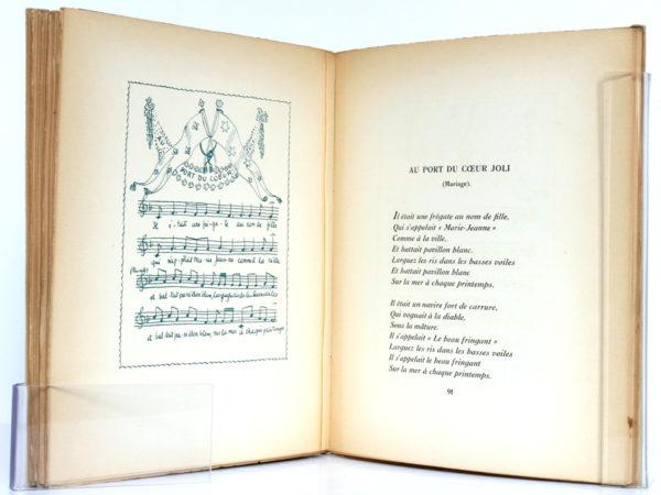 Le Grand Vent, CHAMPIGNY, Essai de P. MAC-ORLAN, Illustrations de Béatrice APPIA. Librairie des Trois-Magots/Denoël, 1929. Pages intérieures 3.