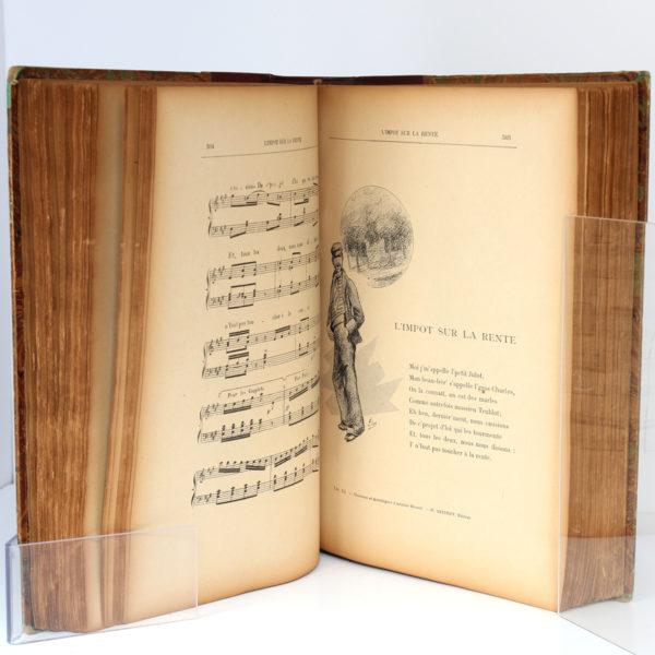 Chansons et monologues, Aristide BRUANT. H. Geffroy, sans date [fin du XIXesiècle]. Pages intérieures 2.