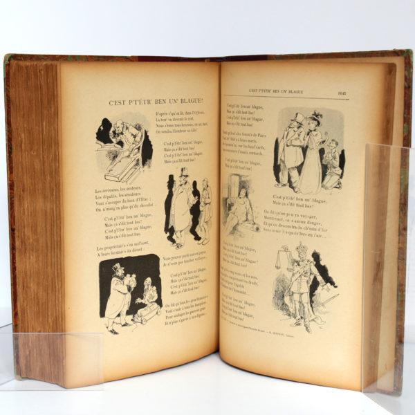 Chansons et monologues, Aristide BRUANT. H. Geffroy, sans date [fin du XIXesiècle]. Pages intérieures 5.