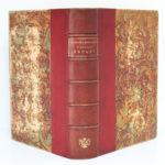 Chansons et monologues, Aristide BRUANT. H. Geffroy, sans date [fin du XIXesiècle]. Reliure : plats et dos.