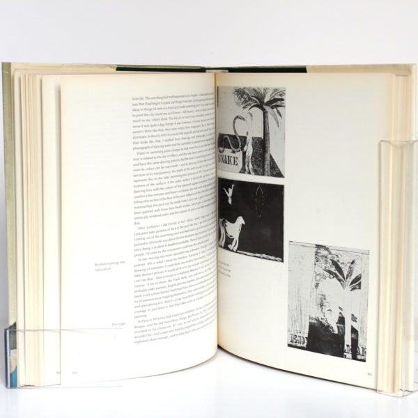 David Hockney by David Hockney, Nikos STANGOS. Thames & Hudson, 1976. Pages intérieures 2.