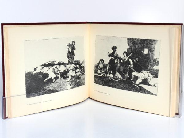 Les désastres de la guerre, Goya. Éditions Cercle d'Art, 1955. Pages intérieures.