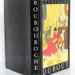 Boubouroche, Georges Courteline. Aux Éditions du Livre, 1958. Illustrations de Dubout. Jaquette.