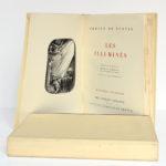 Les Illuminés, Gérard de Nerval. Imprimerie Nationale, 1959. Bois gravés par Henri Renaud. Frontispice et page titre.