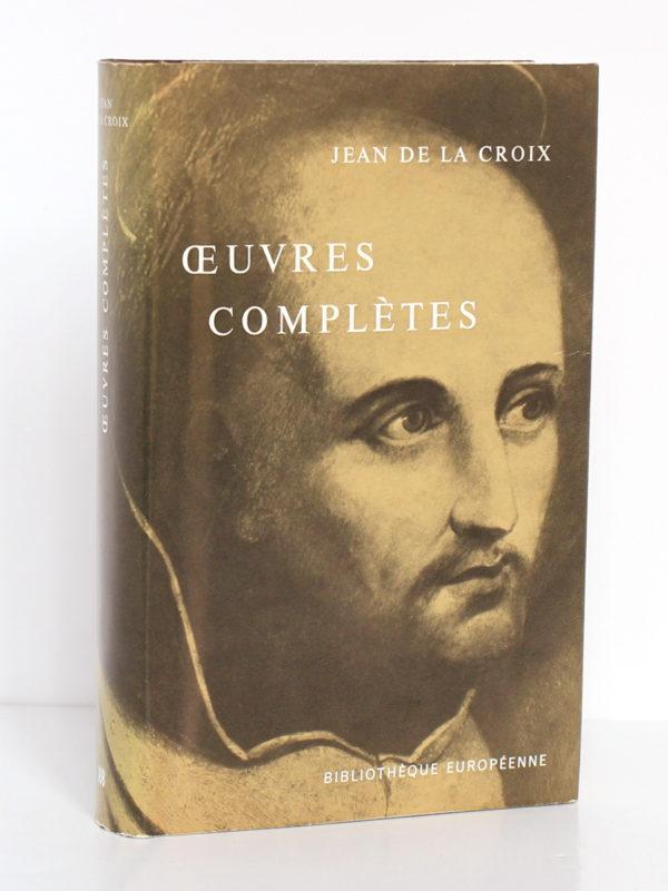 Œuvres complètes, Jean de la Croix. Desclée de Brouwer, 1967. Couverture.